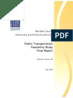 Public Transportation Feasibility Study May 2008