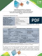 Guía para el desarrollo del componente práctico - Fase 4 - Salida de campo