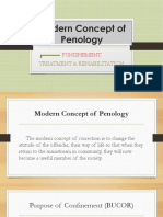 Modern Concept of Penology