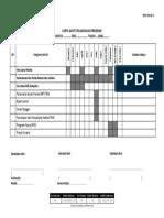 PK01-3 Carta Gantt Program Peningkatan Program