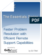 Faster Problem Resolution