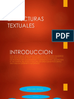 EXTRUCTURAS TEXTUALES