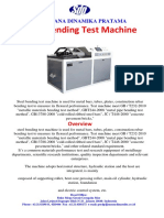 Catalog Bending Test