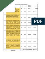 Catalogo Casa Habitacion 6x15 (Autoguardado) mamposteria - PRESUPESTO GENERAL