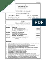 (ADVGEN) (RH-27) Advanced Criminology (Nov2013) v5