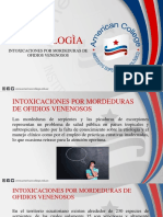 Intoxicacion por mordedura de animales venenosos.pptx