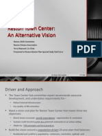 Reston Town Center Alternative Vision Presentation, Reston 2020 Committee