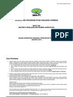BUKU 6A-MATRIKS PENILAIAN INSTRUMEN AKREDITASI PSSF - 04082015