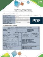 Guía para el desarrollo del componente práctico - Tarea 4 y 5 biologia
