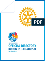 Official Directory RCI 2018-2019