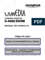 Manual Olympus c 4000