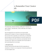 4 Reasons to Remember Your Creator.docx