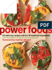 Recipes from Power Foods by the Editors of Whole Living Magazine