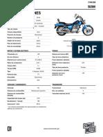 Especificaciones Gz150