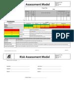 Appendix 5. ALDAR EHS Risk Assessment Model