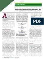 PP #50 - How to Control Process Mist Eliminators