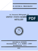 An Annotated Bibliography of United States Marine Corps Artillery PCN 19000412900