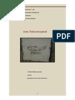 Arta paleocreştină an
