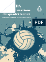 GUIDA Piani Di Studio Defintiva FIPAV allenatori pallavolo