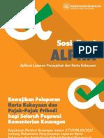 Sosialisasi ALPHA 2019