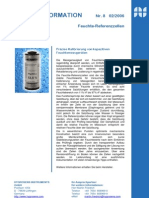 Präzise Kalibrierung von kapazitiven Feuchtemessgeräten - die Referenzzellen von Hygrosens