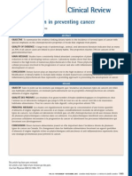 2007 Role of Nutrition in Preventing Cancer