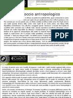 (02) L'approccio antropologico