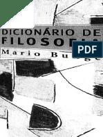 Mario Bunge - Dicionário de Filosofia - Perspectiva, 2002.pdf