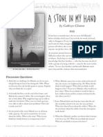A Stone in My Hand by Cathryn Clinton Discussion Guide