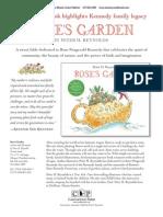 Rose's Garden by Peter H. Reynolds Press Kit
