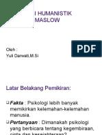 PSIKOLOGI Maslow