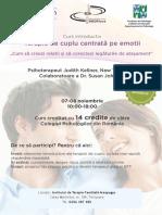 Terapia de cuplu centrata pe emotii