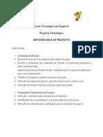 Elaboraçao de metodologia de Projecto