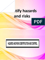 HAZARDS AND RISK CARPENTRY