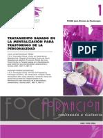 FOCAD - Mentalización y T-Personalidad