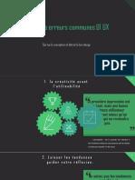 Top 8 des erreurs communes UI UX.ppsx
