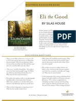 Eli the Good by Silas House Discussion Guide