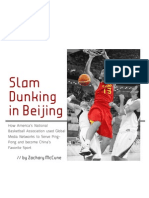 Slam Dunking in Beijing