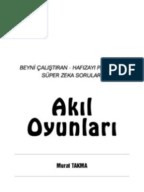 28513292 Akil Oyunlari Murat Takma