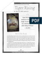 The Tiger Rising by Kate DiCamillo Discussion Guide