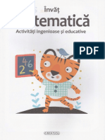 Activitati ingenioase si educative Invat matematica 3-4 ani