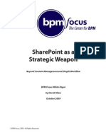 Share Point as a Strategic Weapon