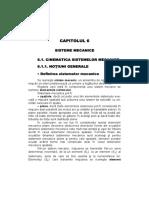 09_Capitolul 6_Sisteme mecanice