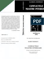 Conflictele Noastre Interne - K.Horney