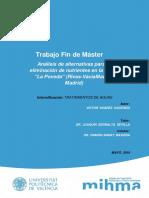 Suárez - Análisis de alternativas para la eliminación de nutrientes en la EDAR _La Poveda_ (Rivas...