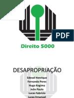 TRABALHO_DESAPROPRIAO