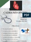 Cardiomyopathy Final