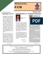 Nov Newsletter 2010