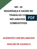 9 NR 20 - modulo 9 - Acidente com inflamáveis