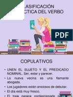 verbos. clasificación sintáctica